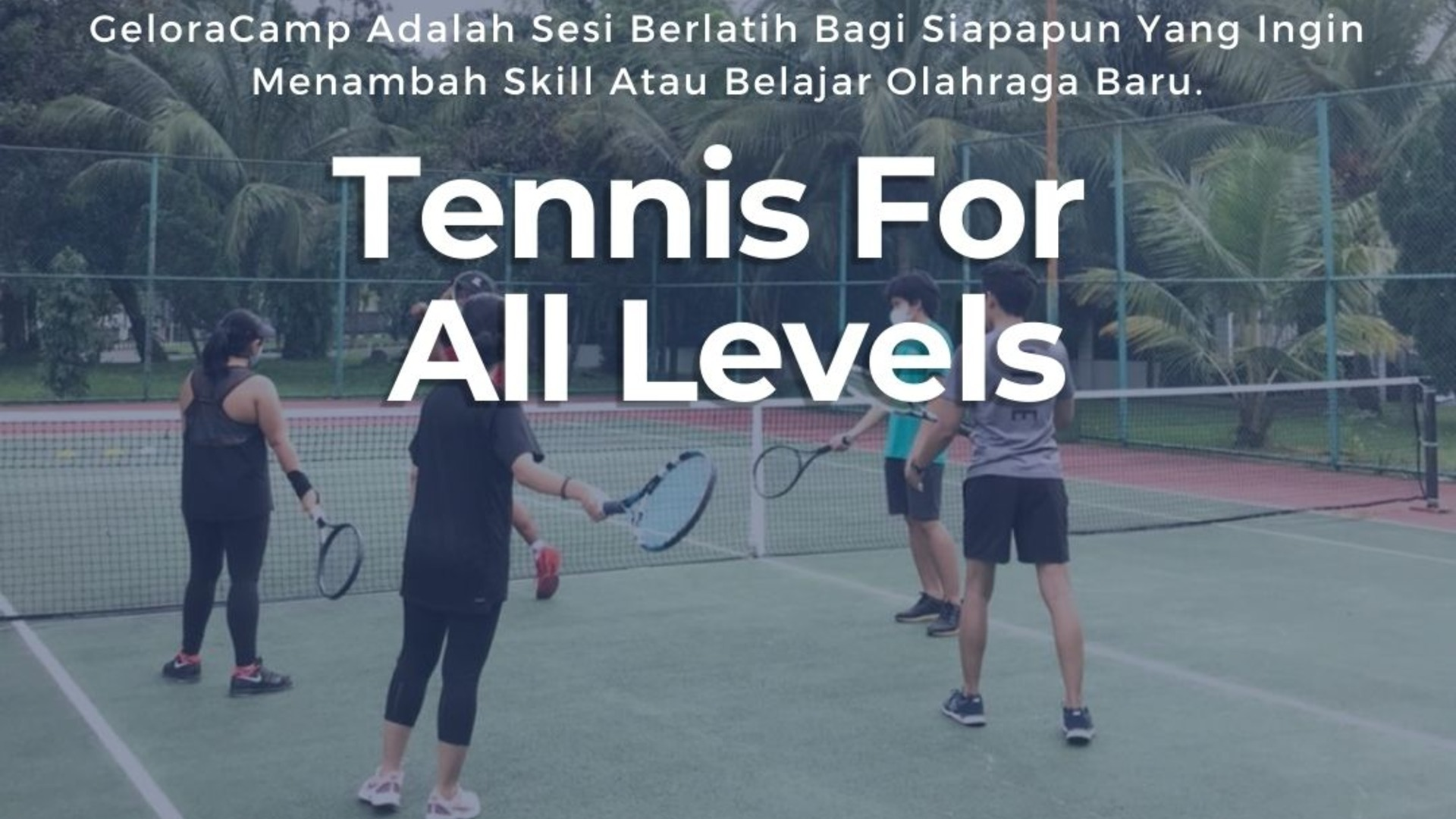 Tenis For All Levels at Bona Indah Tenis Court