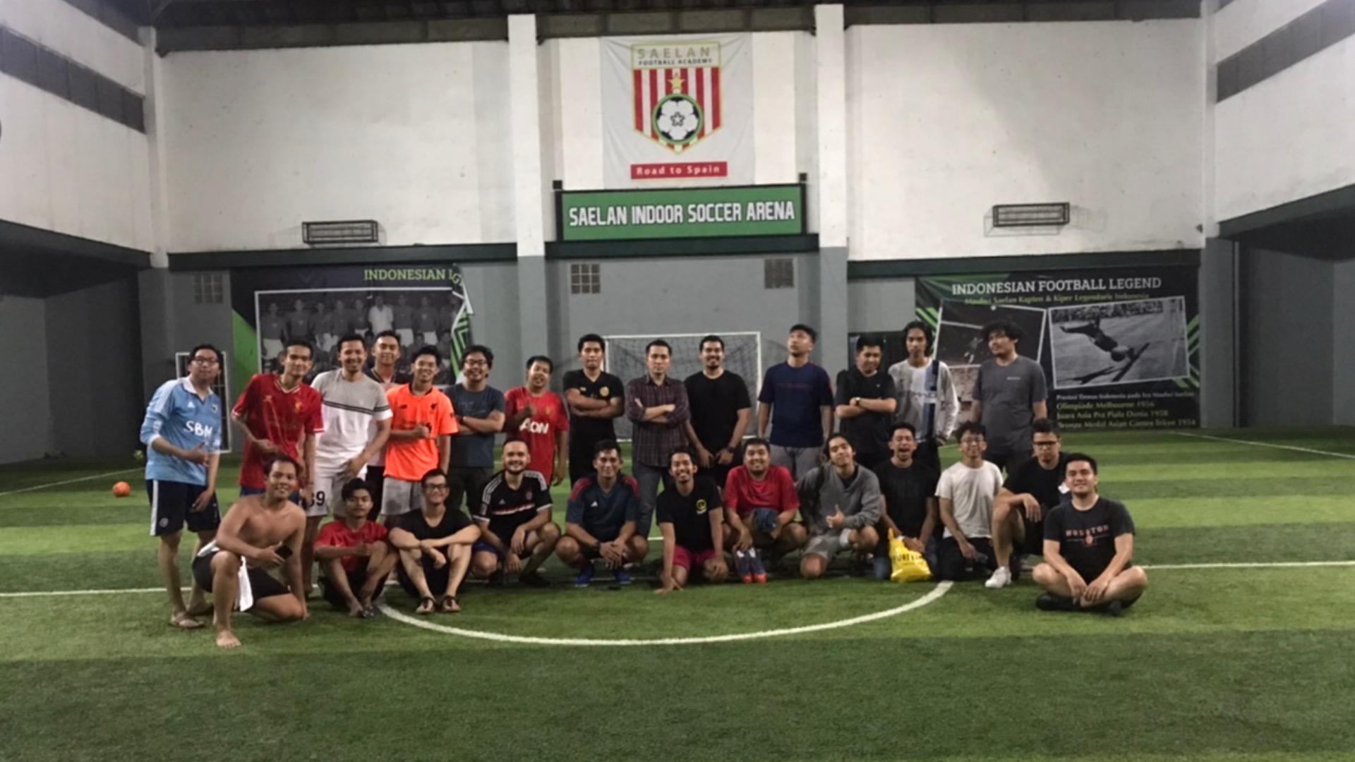 Tuesday Gelora Saelan Futsal