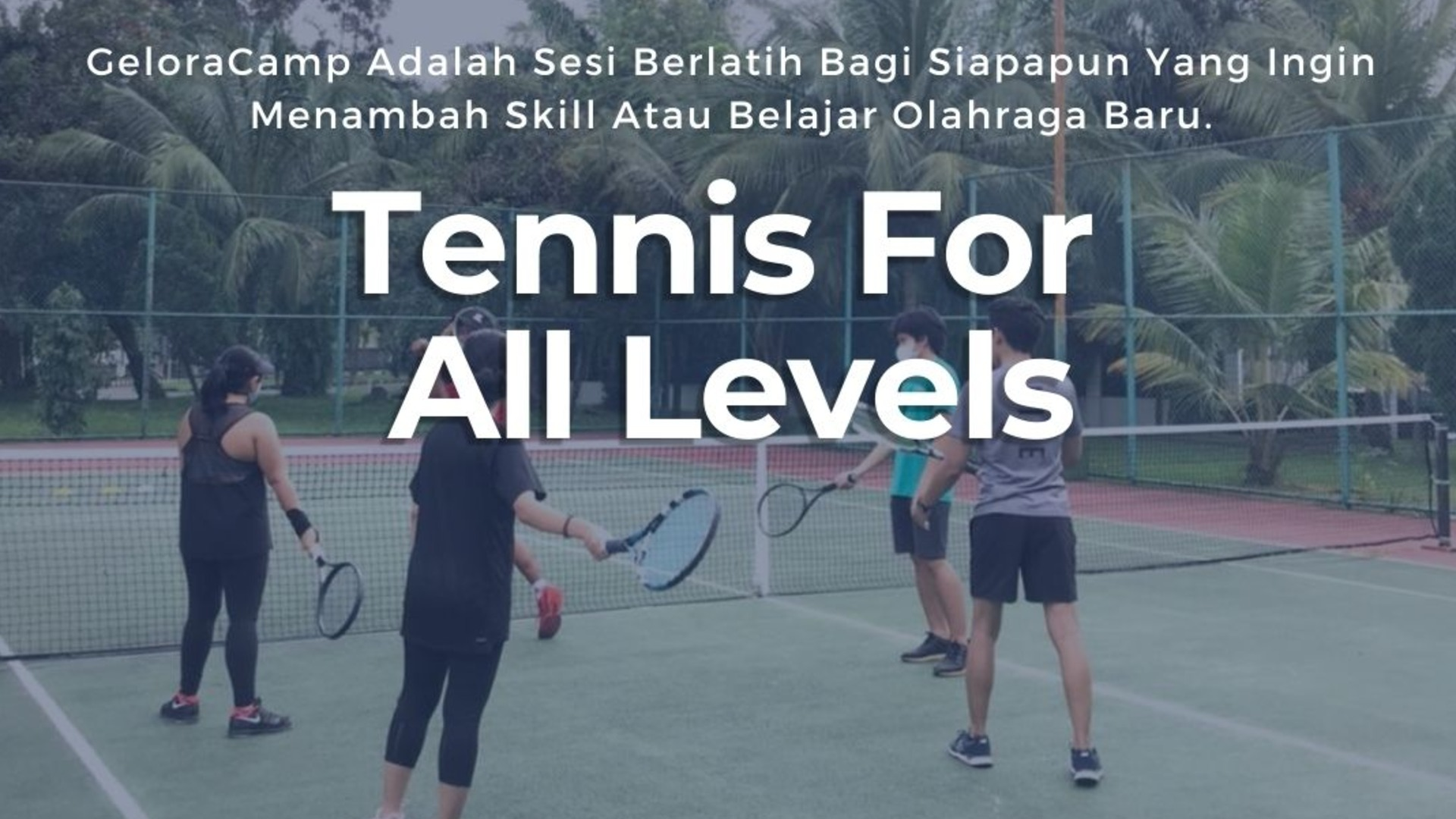 Tenis For All Levels at Pondok Labu Garden Tenis Court