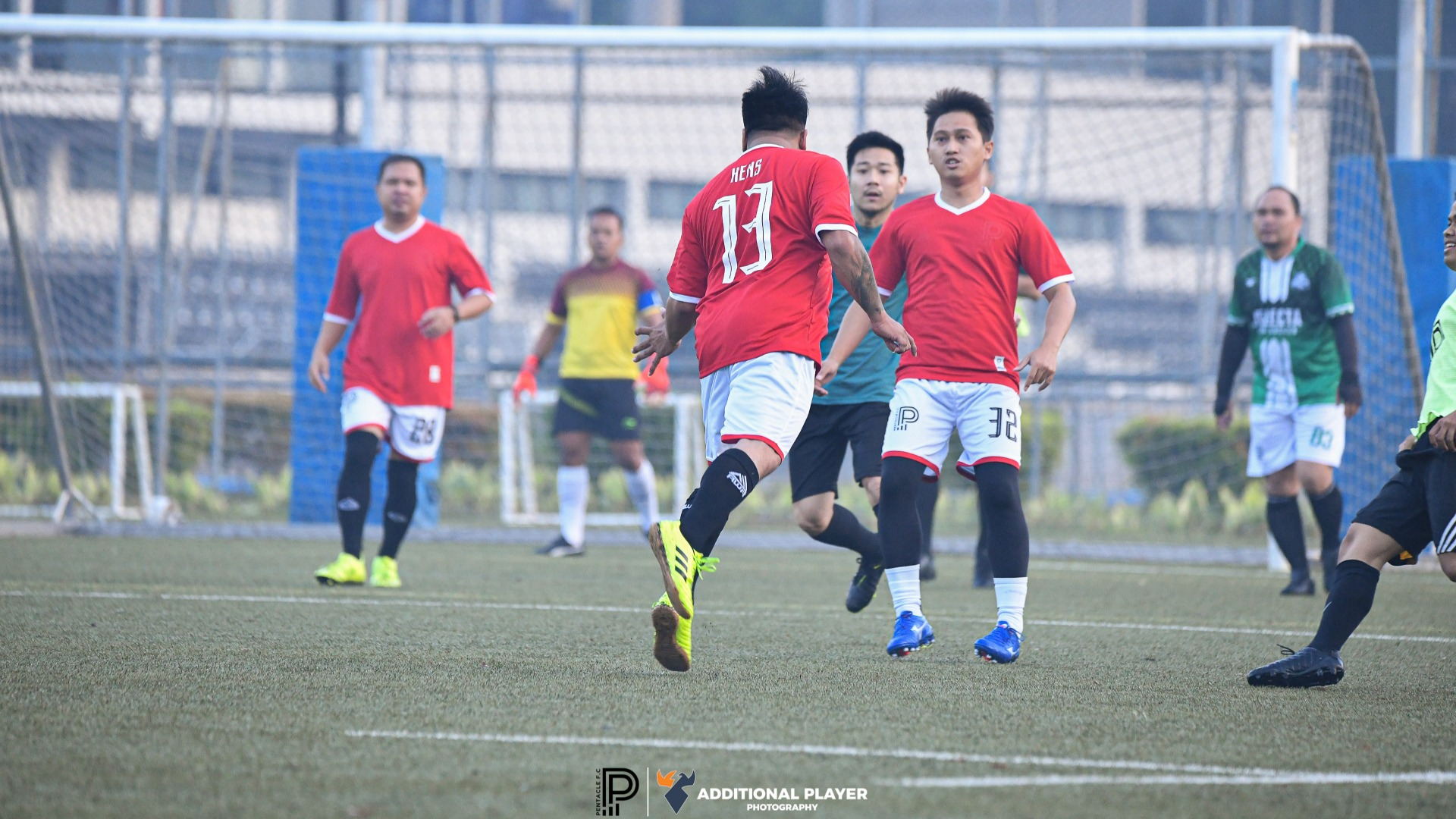 INTERNAL FOOTBALL PENTACLE RUGBY FIELD CF AND CB POSITION ONLY