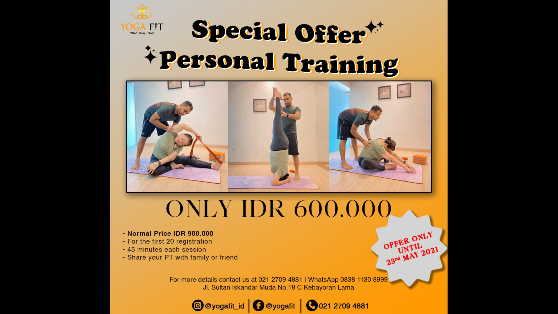Personal Training Yoga